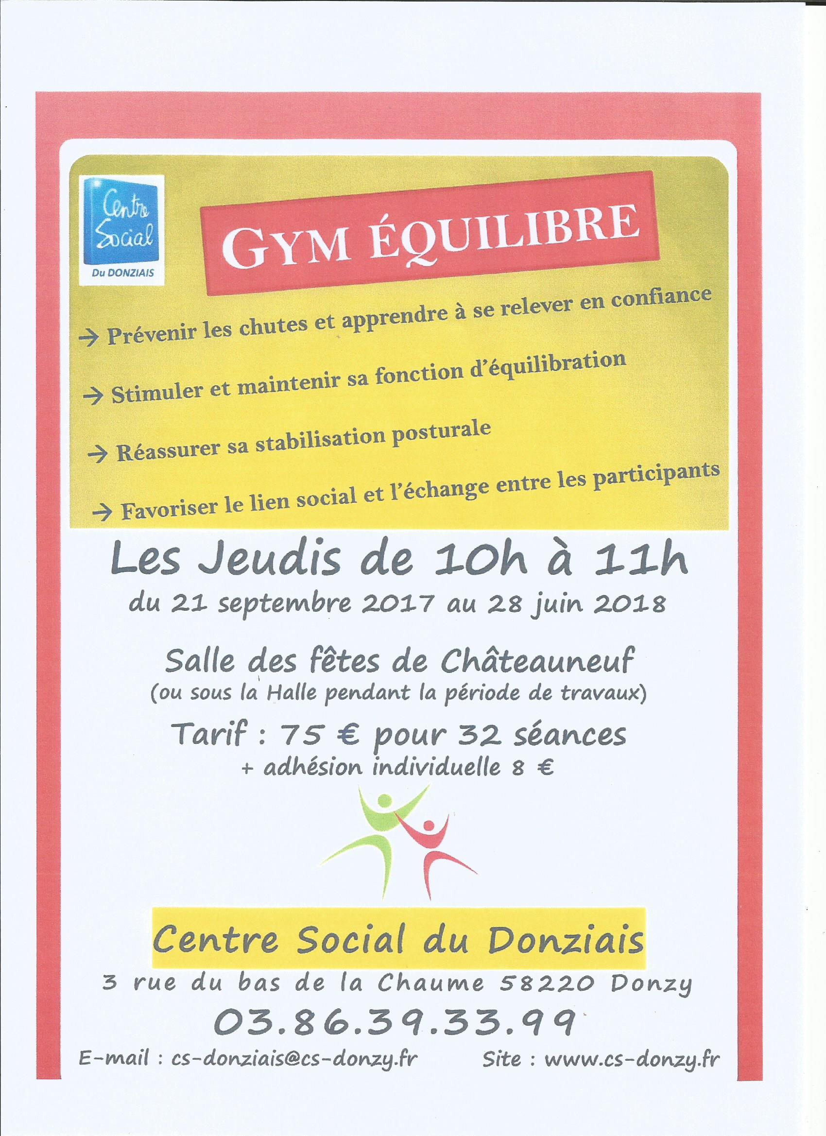 gym-equilibre