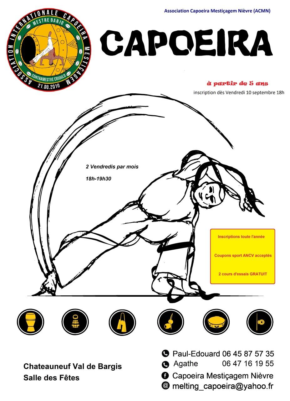 thumbnail_Poster_capoeira chateauneuf pour rentrée