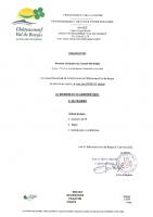 Convocation Conseil municipal du 13 Janvier 2021