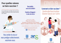 Dépliant vaccination Covid