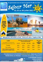 séjour mer JUILLET 2021