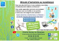 atelier INITIATION NUMERIQUE 2021 SENIORS